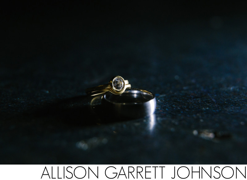 Gold Handmade Engagement Ring