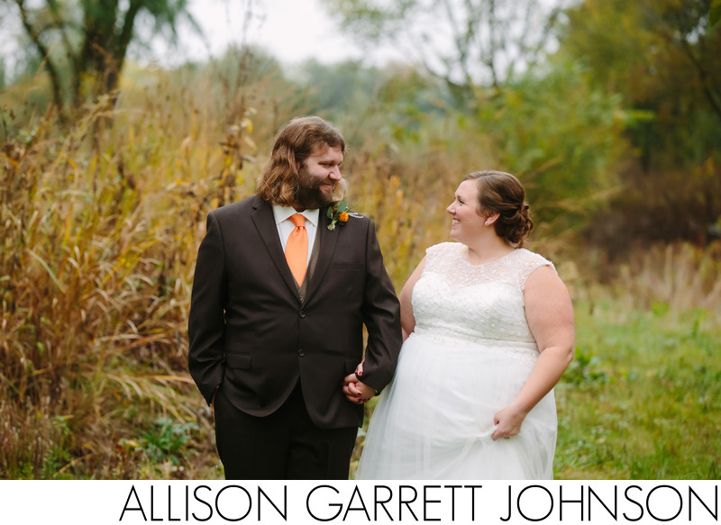 Fall Wedding Photos at Antelope Park Lincoln, NE