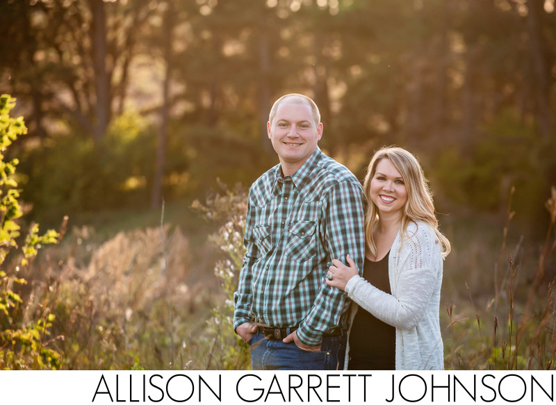 Engagement Pictures at Pioneers Park Lincoln