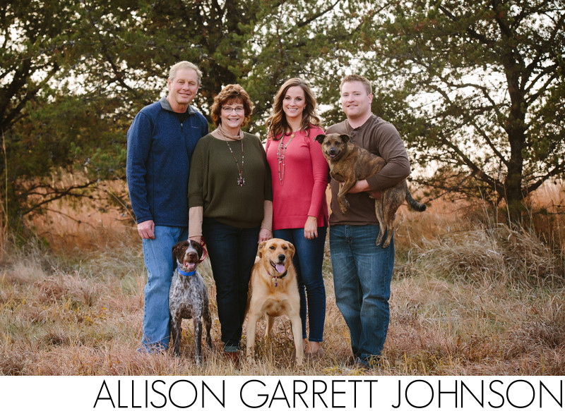 Family Pictures with Dogs Nebraska