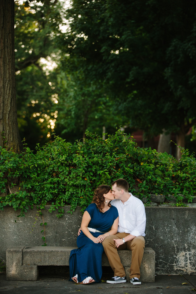 Sheldon Museum of Art Sculpture Garden Engagement