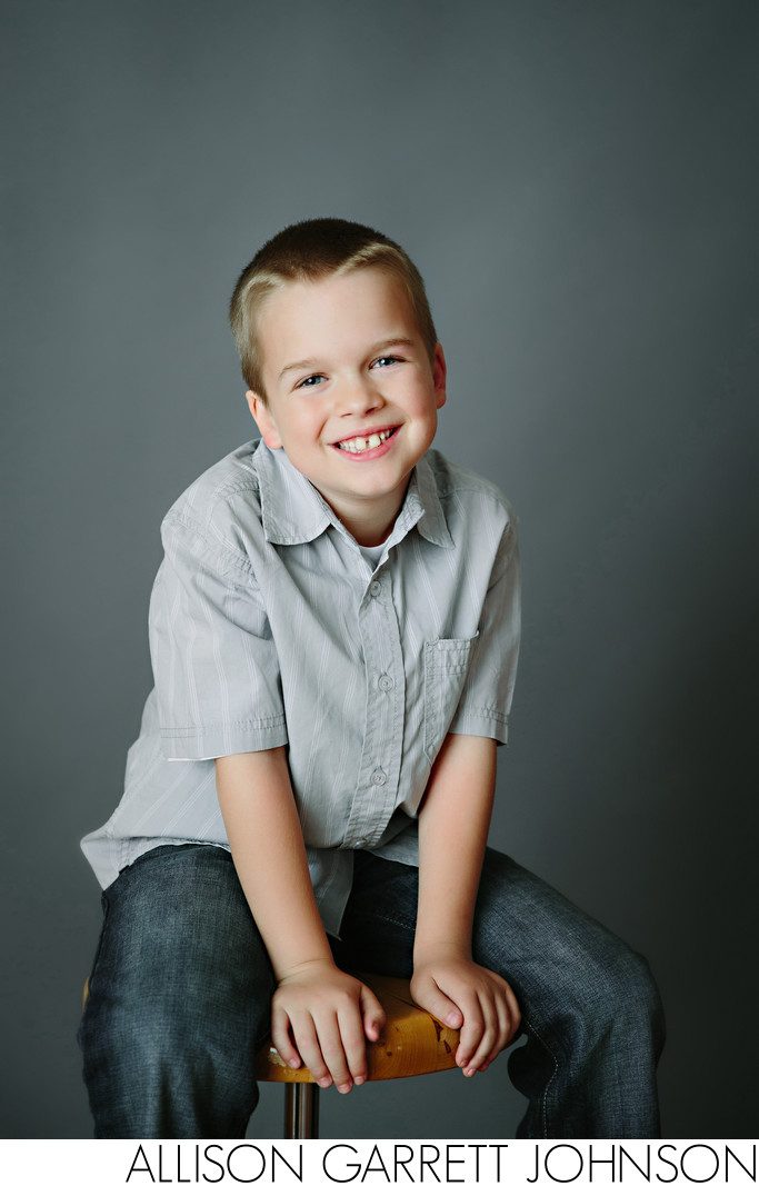 Boy Studio Portrait
