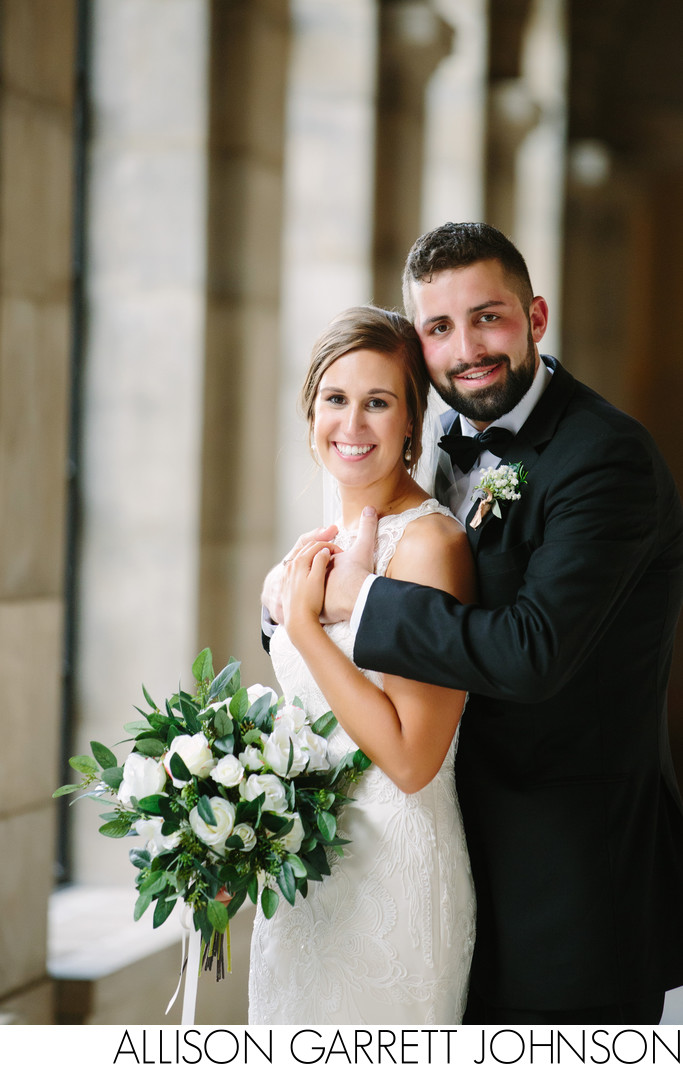 Classic Wedding Photos at the Nebraska State Capitol