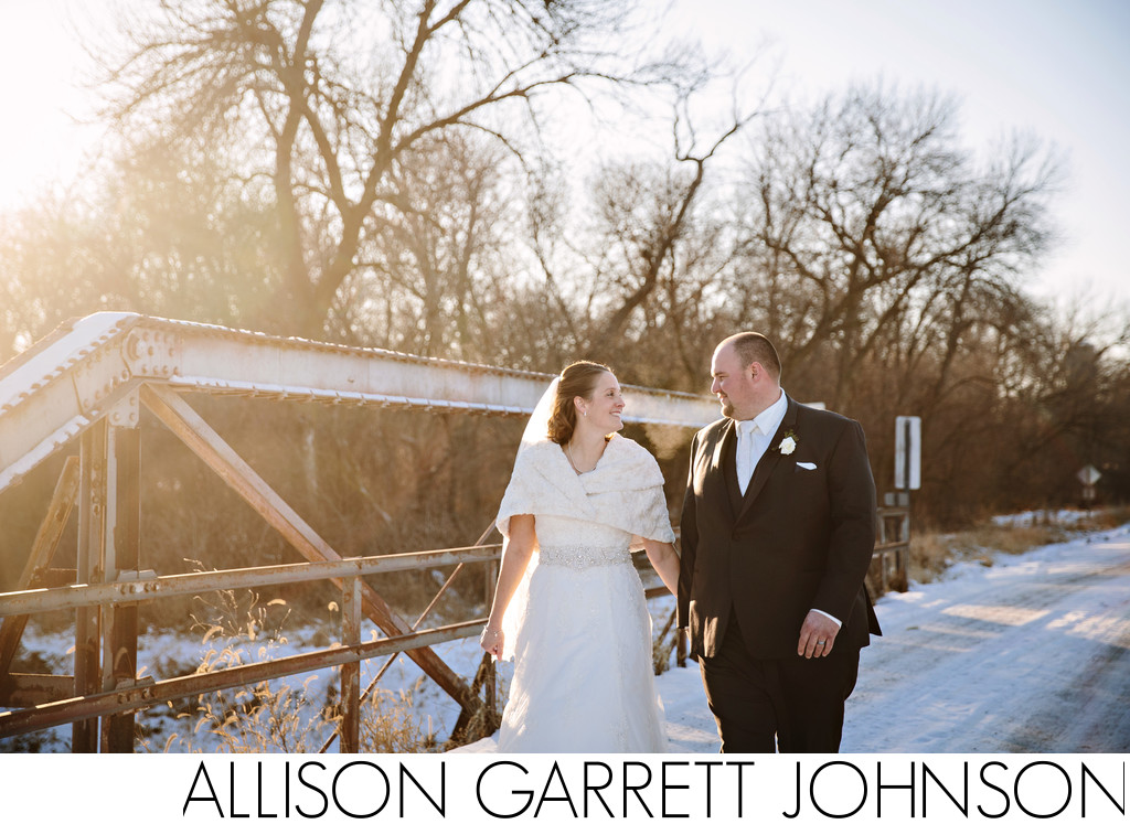 Seward Nebraska Winter Wedding