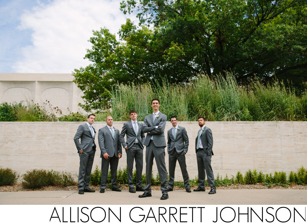 UNL Sculpture Garden Wedding