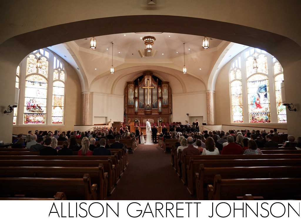St. Paul United Methodist Lincoln Wedding