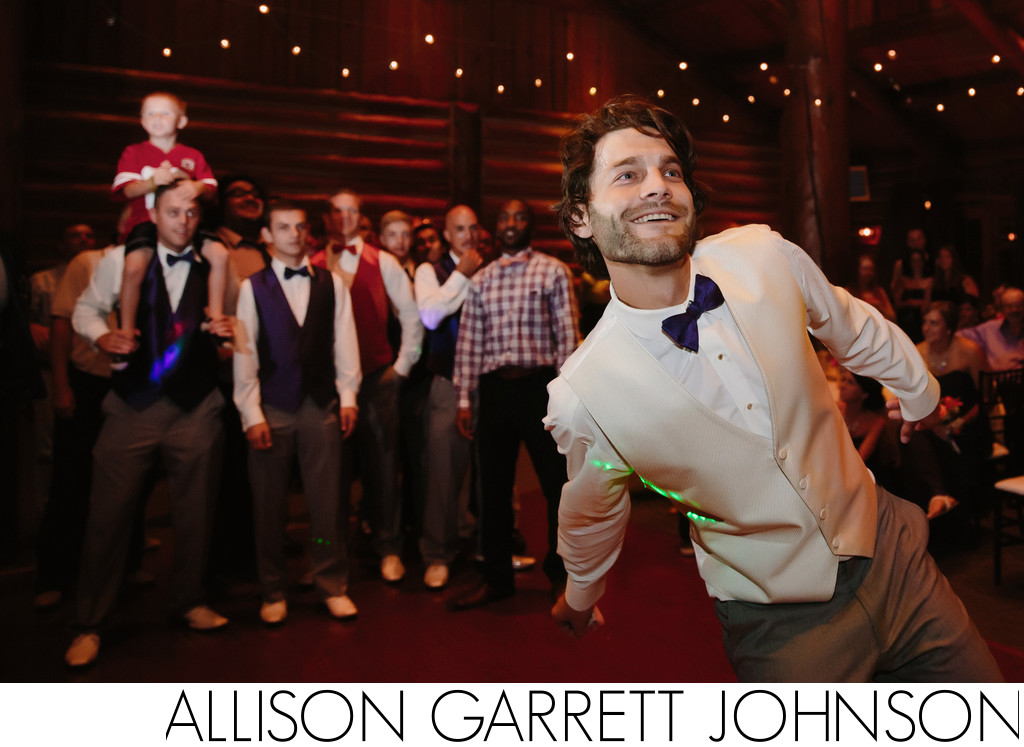 Garter Toss at Wilderness Ridge Golf Club