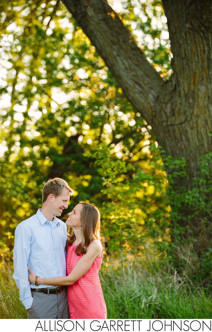 York, Nebraska Engagement Couple
