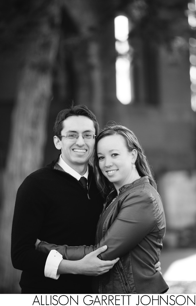 Engagement Shoot at Nebraska Wesleyan University