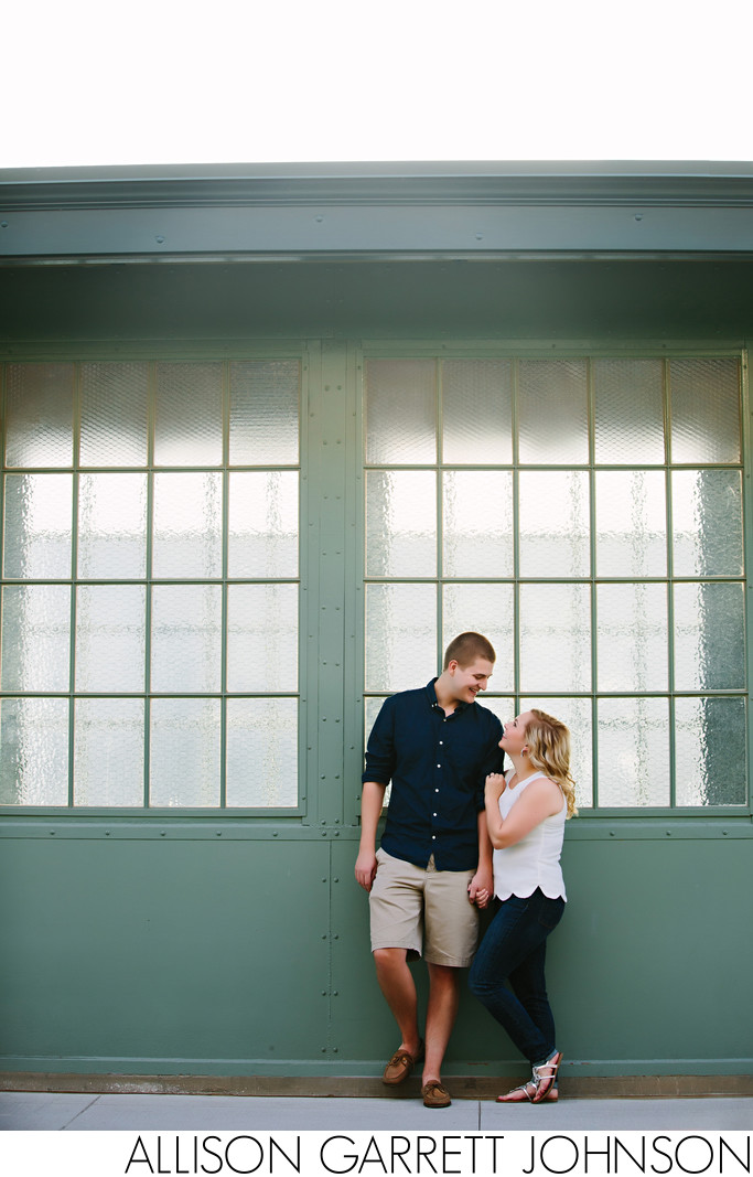Haymarket Train Tracks Engagement Session