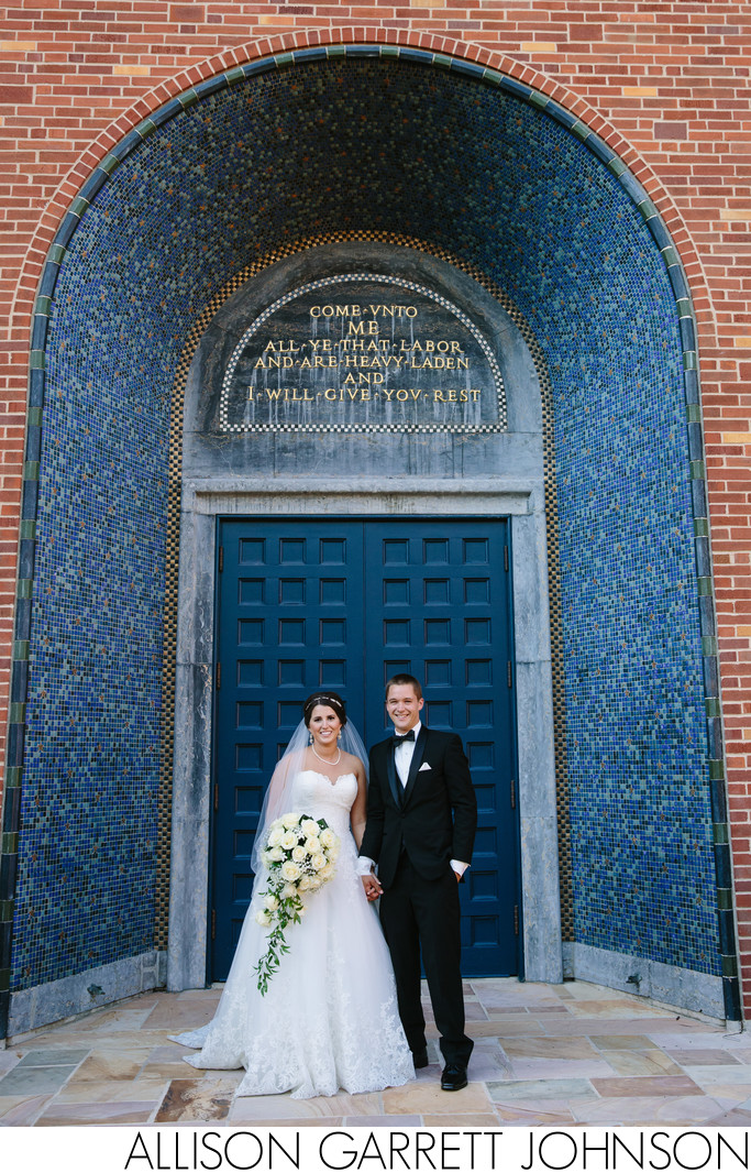 First Plymouth Blue Doors Wedding