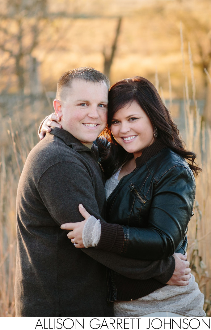Engagement Session at Pioneers Park Nature Center Lincoln