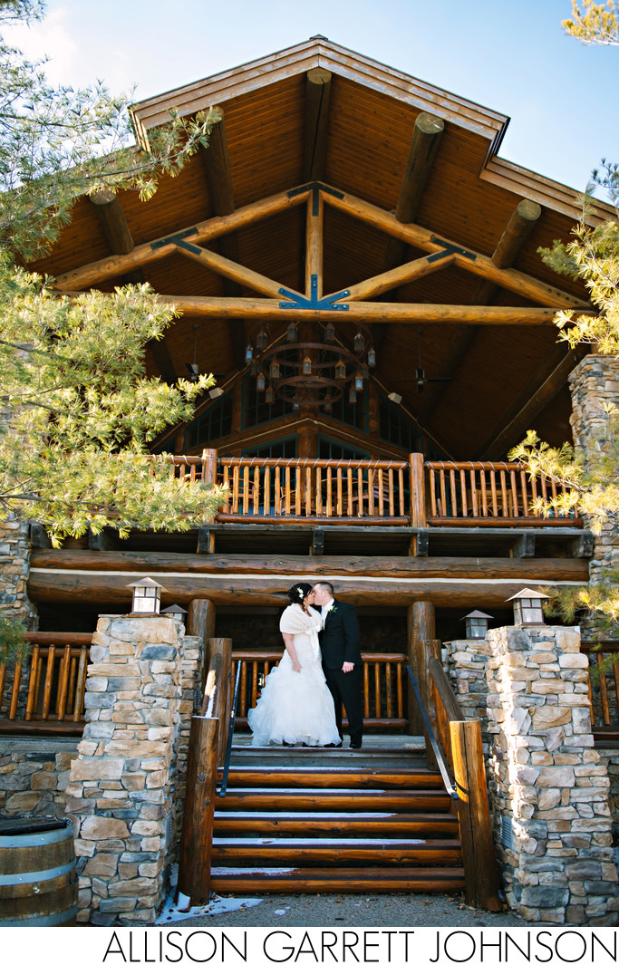 Winter Wedding at Wilderness Ridge