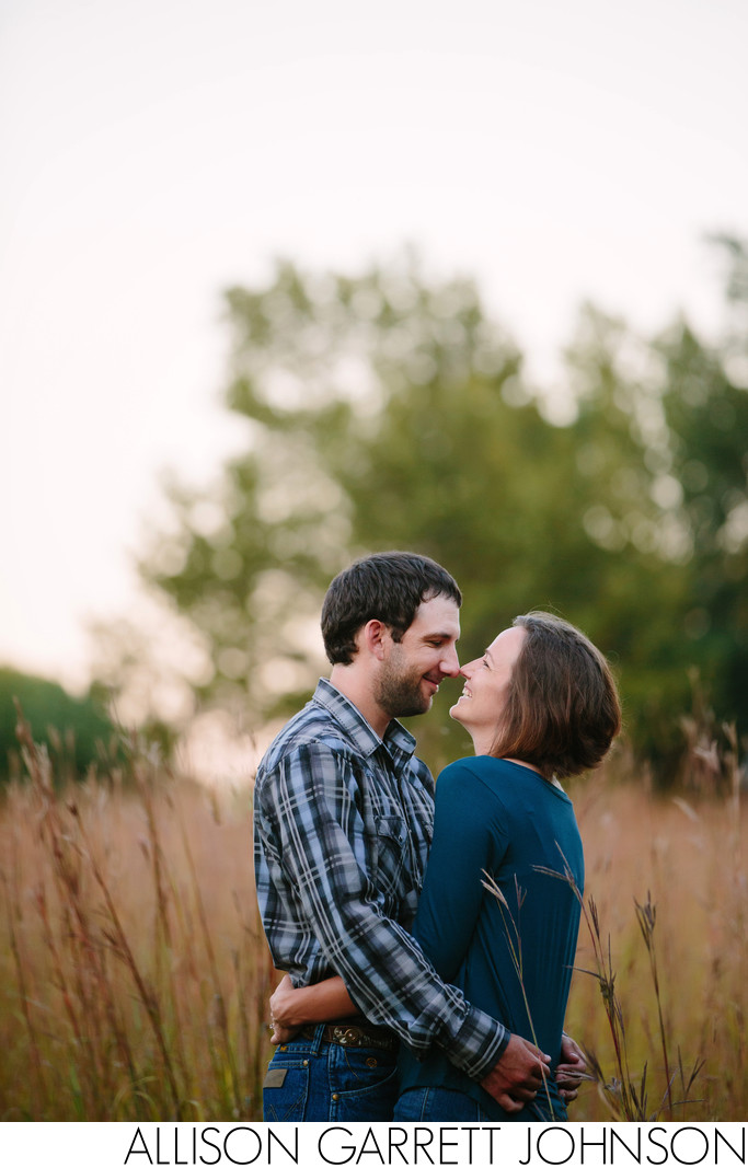 Engagement Shoot at UNL East Campus