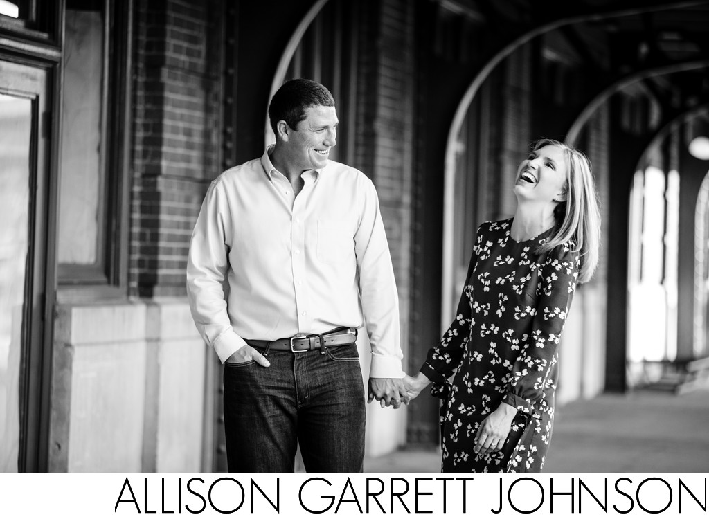 Engagement Session in Lincoln Haymarket