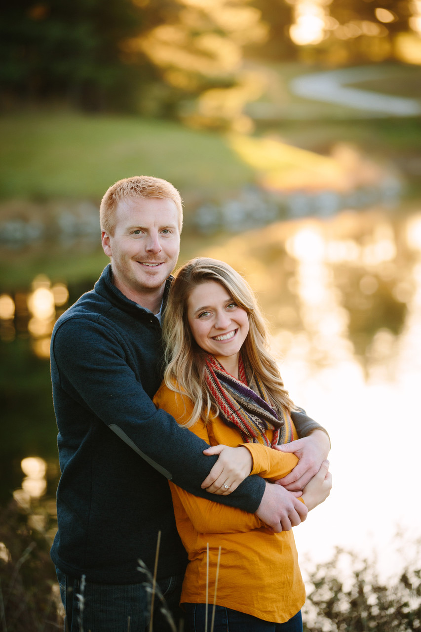Engagement Shoot at Pioneers Park Duck Pond