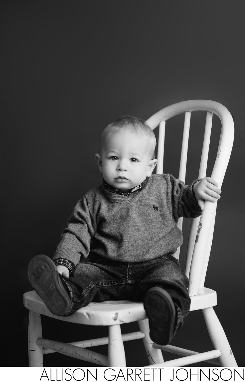 One Year Portraits in Studio
