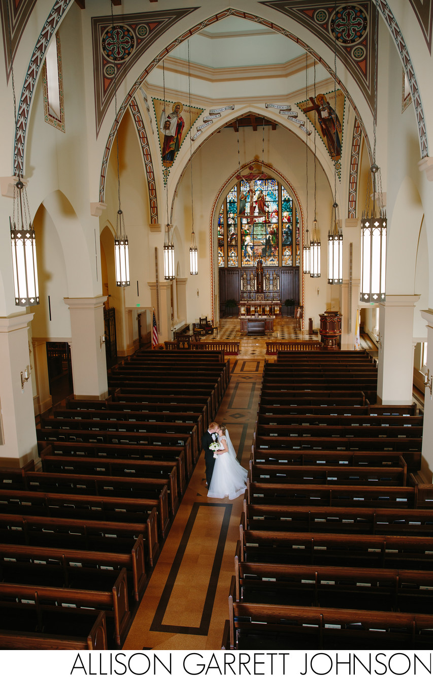 St. Thomas Aquinas Newman Center Wedding