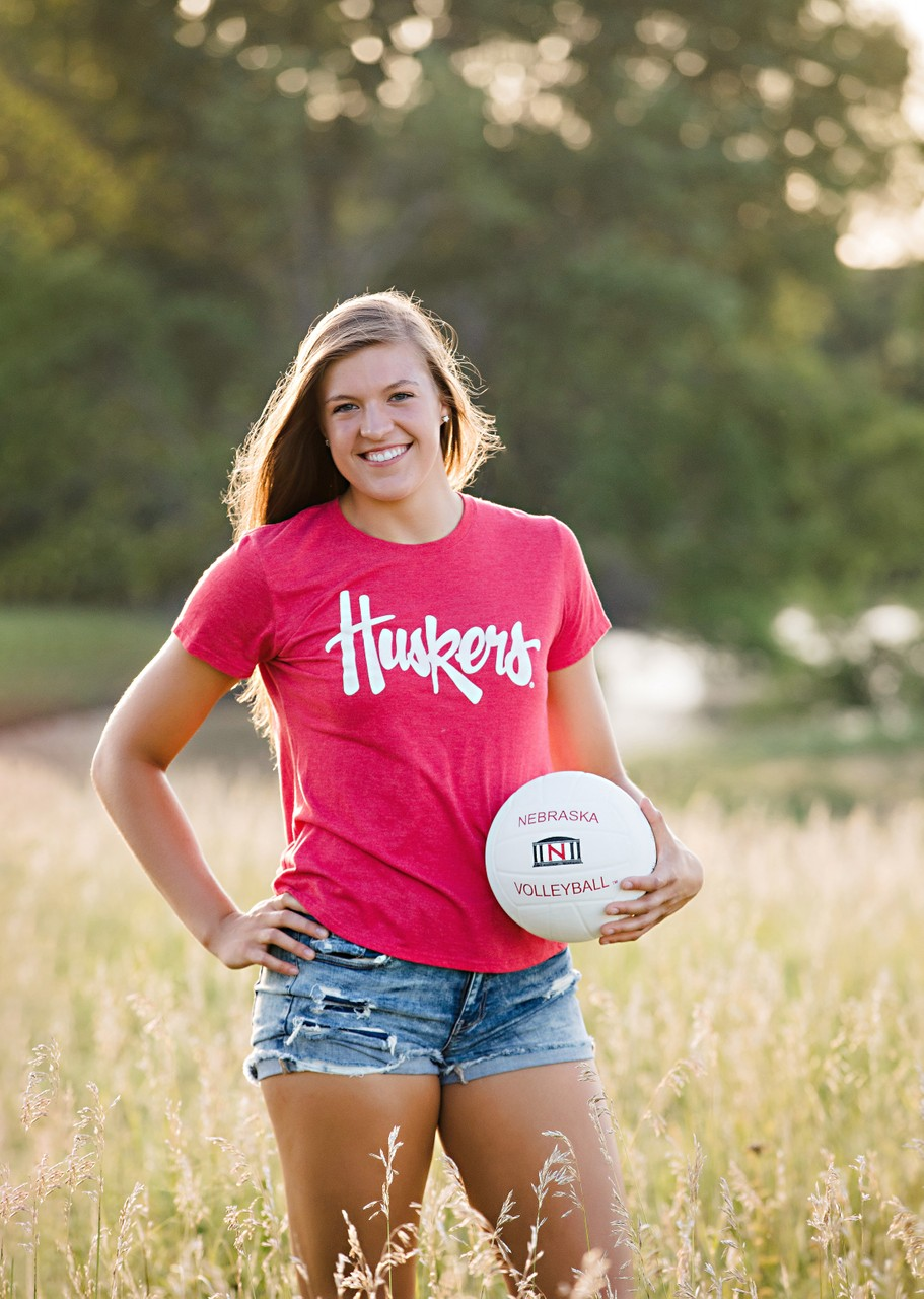 Nebraska Volleyball Senior Photos