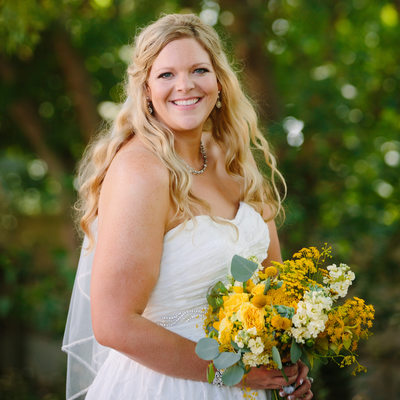 First Lutheran Church Bridal Portrait