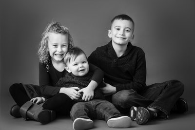 Cousin Portraits in Studio