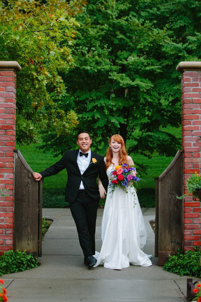 Lauritzen Gardens Wedding