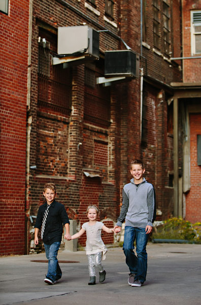 Urban Family Photos Downtown Lincoln