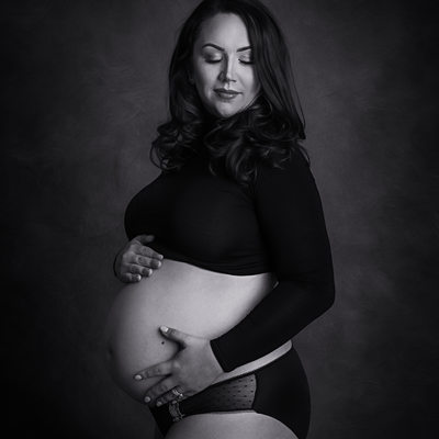 Black and white maternity photos Newbridge