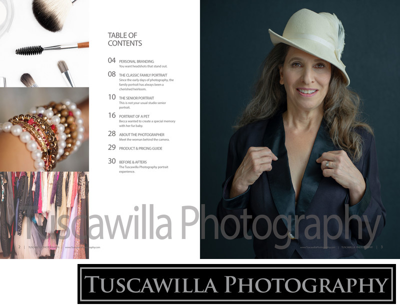 Tuscawilla Photography magazine table of contents