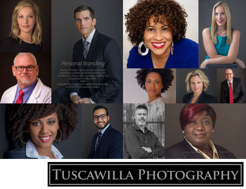 Tuscawilla Photography magazine headshots