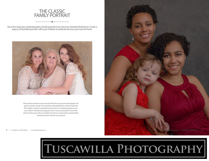 Tuscawilla Photography magazine family