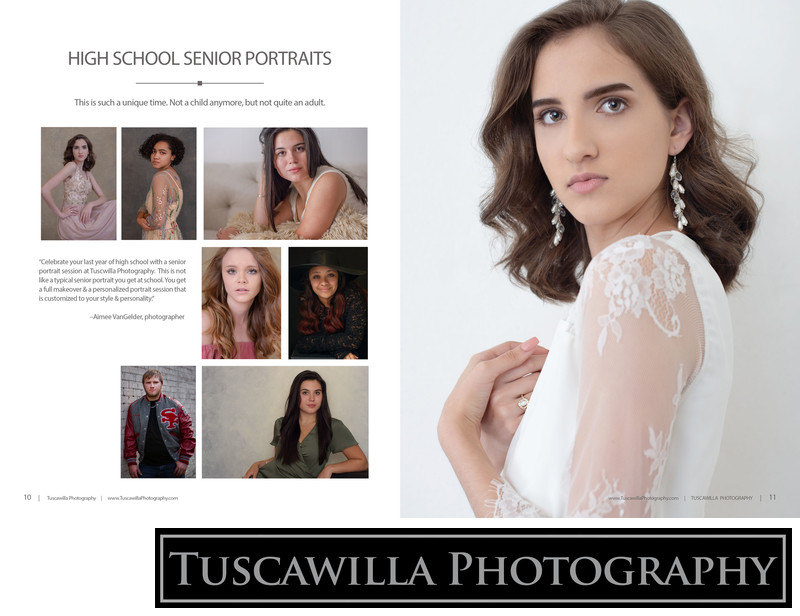 Tuscawilla Photography magazine high school senior