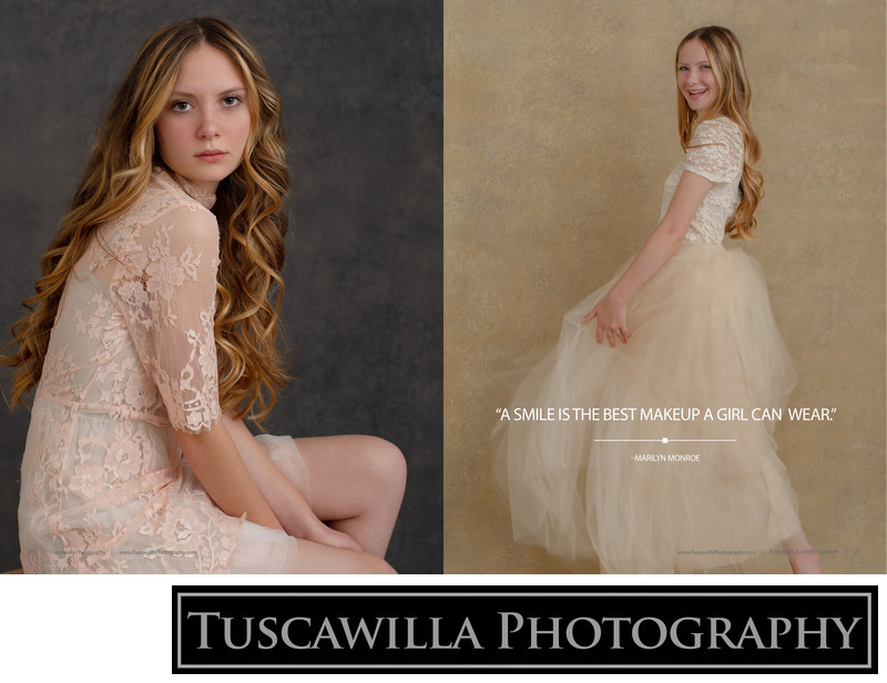 Tuscawilla Photography magazine teen photography