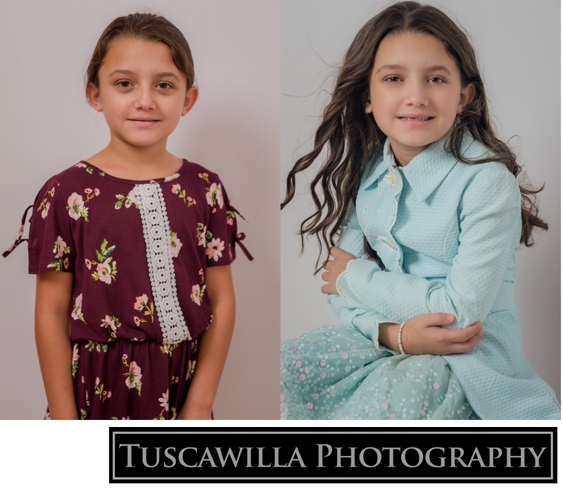 Before & After Styling Child Portrait