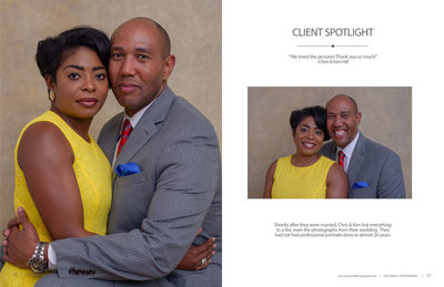 Tuscawilla Photography magazine couples