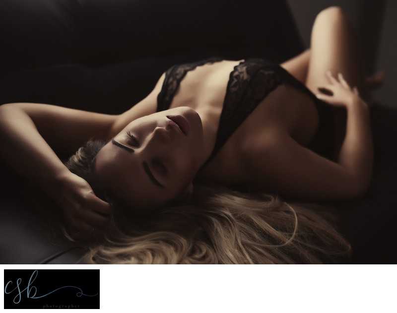 boudoir photo in camberley