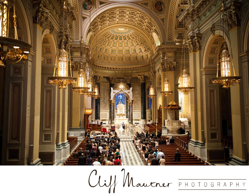 Basilica Wedding Philadelphia