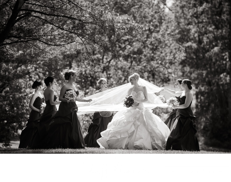 Bridal Party at Ashford Estate Wedding
