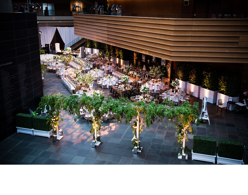 Receptions at Kimmel Center Weddings
