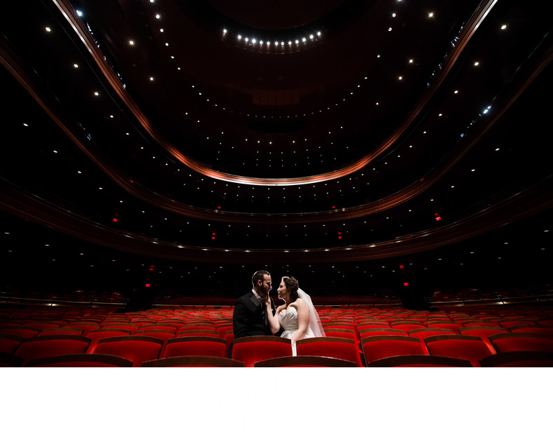 Portraits at Kimmel Center Weddings