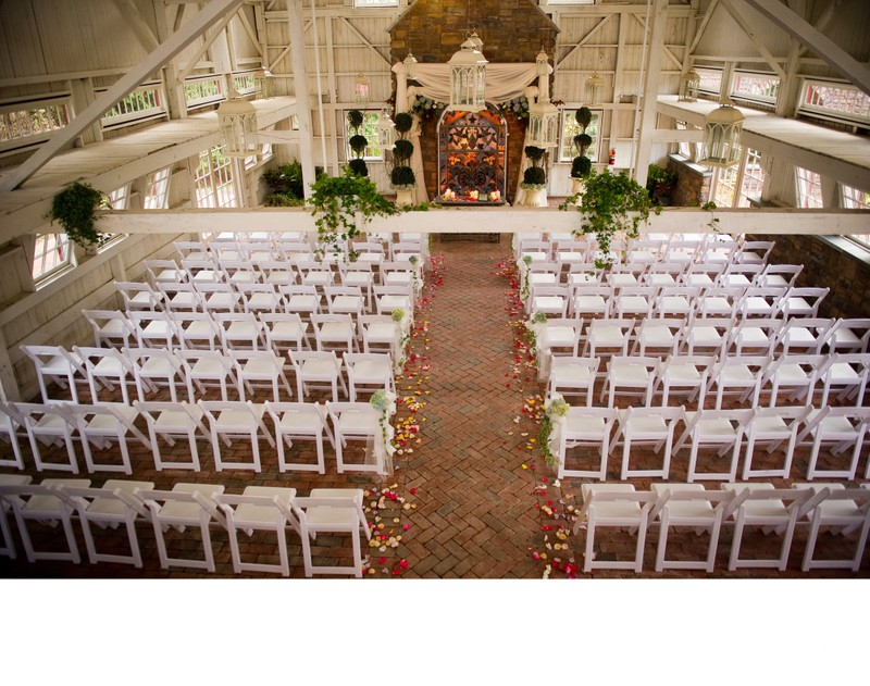 Ceremony Set-Ups at the Ashford Estate