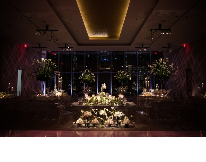 Four Seasons Hotel Philadelphia Wedding Decor