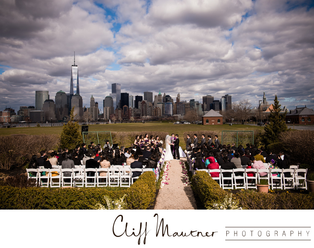 Wedding Ceremony At Liberty House Restaurant