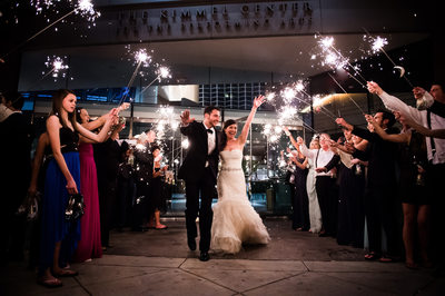 Sparkler Exit at Kimmel Center