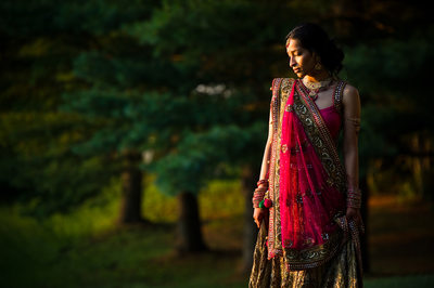 Indian Bride at Ashford Estate