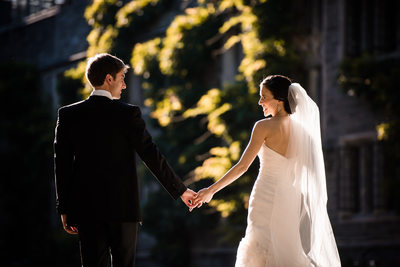 wedding photography at Princeton University