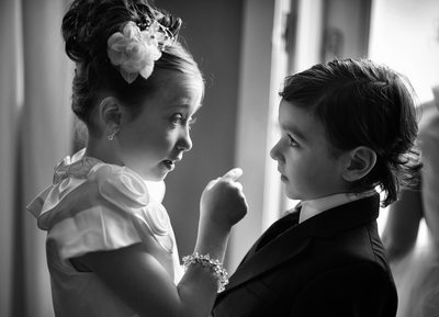 Flower Girl and Ring Bearer Photos