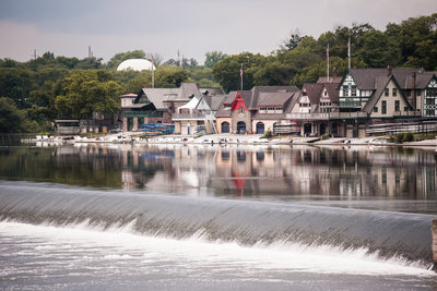 Boathouse Row at Cescaphe Water Works