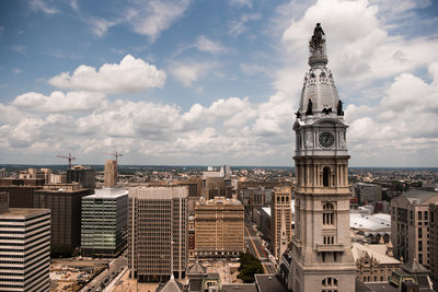 View from Ritz-Carlton Philadelphia