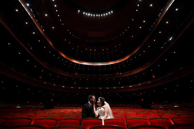 Wedding Portraits at Kimmel Center